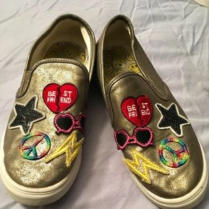 Super Cool girl's slip-on sneakers from Justice